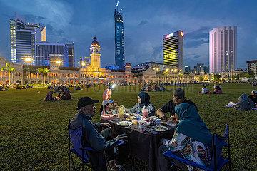 MALAYSIA-KUALA LUMPUR-COVID-19-RAMADAN