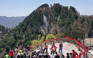 CHINA-SHAANXI-MOUNT HuaShan-TRAVEL (CN)