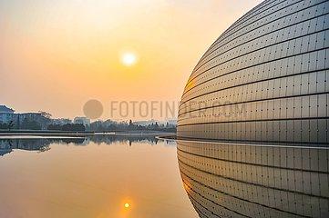 Peking - Nationales Zentrum für darstellende Künste   Beijing - National Center for the Performing Arts