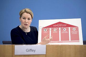 Franziska Giffey - Aktionsprogramm Corona