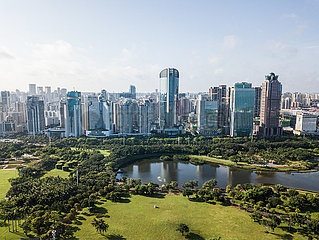 CHINA-HAINAN-HAIKOU-AERIAL PHOTO (CN)