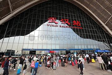 #CHINA-HUBEI-WUHAN-RAIL PASSENGER TRIP (CN)