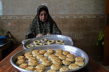 MIDEAST-GAZA-Eid al-Fitr-VORBEREITUNG