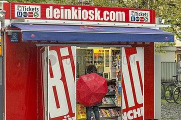 Kiosk  Zeitschriftenladen am Sendlinger Tor  Muenchen  6. Mai 2021