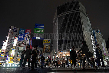JAPAN-TOKYO-COVID-19-Notstand-EXTENSION
