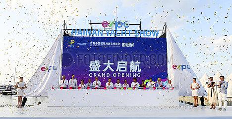 CHINA-HAINAN-HAIKOU-INT'L CONSUMER PRODUCTS EXPO-YACHT SHOW (CN)