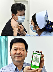 CHINA-SHANDONG-JINAN-COVID-19-VACCINATION(CN)