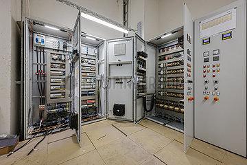 Schaltanlagen  elektrotechnische Einrichtungen im Industriebau  Oberhausen  Nordrhein-Westfalen  Deutschland