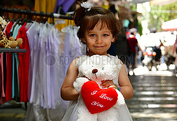 SYRIA-DAMASCUS-EID AL-FITR-CHILDREN