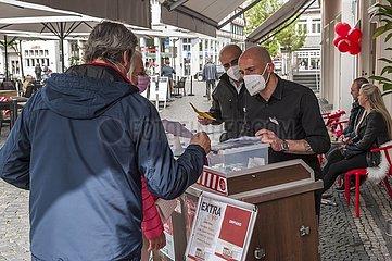Corona-Modelprojekt in Lippstadt