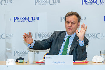 UK Handelsminister Greg Hands
