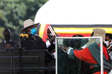 UGANDA-KAMPALA-PRESIDENT-INAUGURATION