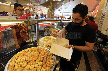 JORDAN-AMMAN-Eid al-Fitr-BONBONS