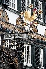 historisches Gasthausschild