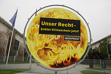 Tag der Pflege  Demonstration vor dem Bundeskanzleramt