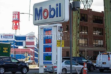 US-KRAFTSTOFF PIPE-SHUTDOWN-Benzinpreis
