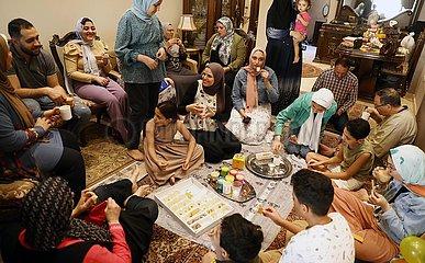 ÄGYPTEN-KAIRO-Eid al-Fitr-FEIER
