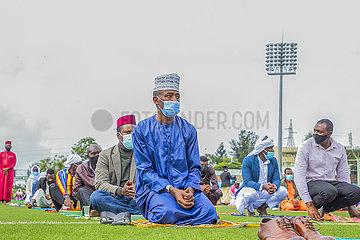 Rwanda-KIGALI-Eid al-Fitr-GäBE