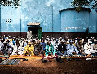 Zentralafrikanische Republik-BANGUI-Eid al-Fitr