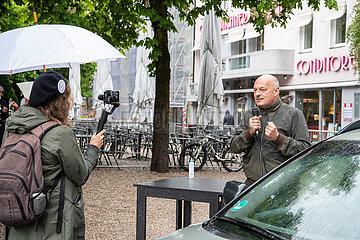 Erneute Querdenken Demo in München