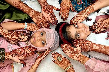 INDIA-HYDERABAD-EID AL FITR