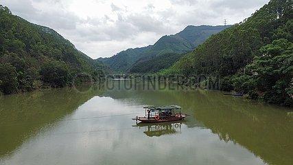 CHINA-GUANGXI-HEZHOU-FERRYMAN (CN)