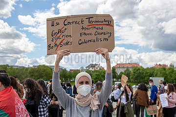 Free Palestine Demo in München