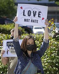 CANADA-RICHMOND-ANTI-ASIAN HATE CRIME RALLY