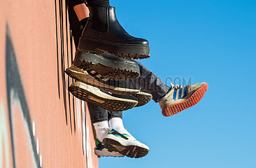Berlin  Deutschland - Schuhe und Sneaker
