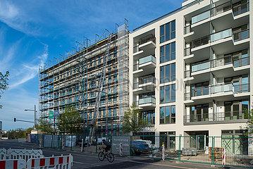 Berlin  Deutschland - Neubau von Eigentumswohnungen in in Prenzlauer Berg