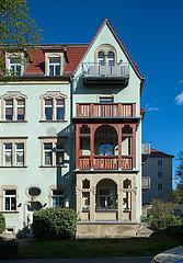 Dresden  Deutschland - Mehrfamilien-Stadtvilla in Dresden-Suedvorstadt
