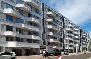 Berlin  Deutschland - Neubau von Eigentumswohnungen in der Pappelallee in Prenzlauer Berg