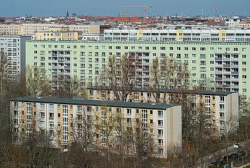 Berlin  Deutschland  Mitte - Wohnbebauung in der City Ost