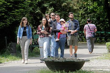 ROMANIA-BUCHAREST-COVID-19-EASE