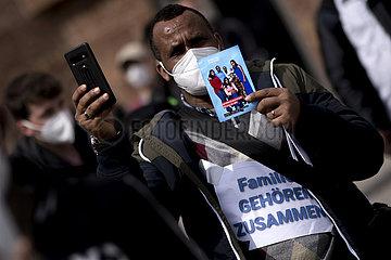 Demo Familiennachzug Eritrea