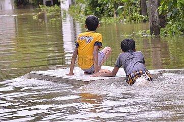 SRI LANKA-GAMPAHA-FLOOD