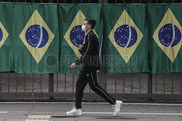BRAZIL-SAO PAULO-COVID-19-CASES