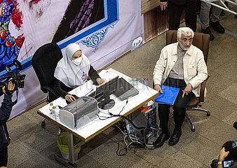 IRAN-TEHRAN-PRESIDENTIAL CANDIDACY-REGISTRATION