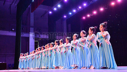 CHINA-TIANJIN-UNIVERSITY OF TECHNOLOGY-THE DEAF-DANCING GROUP (CN)