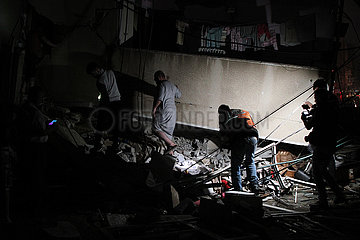 MIDEAST-GAZA CITY-ISRAEL-AIRSTRIKES