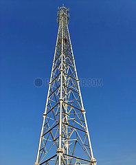 LAOS-VIENTIANE-CHINA-RAILWAY-COMMUNICATION TOWERS