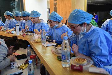 CHINA-ANHUI-HEFEI-COVID-19-VACCINATION (CN)