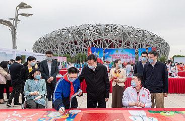 CHINA-BEIJING-WANG YONG-ACTIVITIES-DISABILITY (CN)