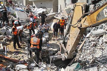 MIDEAST-GAZA CITY-AIRSTRIKES