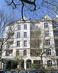Ehemaliges Hamburger Wohnhaus von Angela Merkel