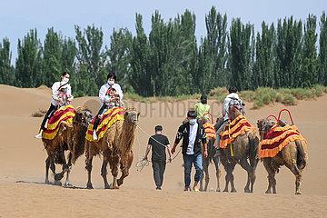 CHINA-XINJIANG-SHANSHAN-DESERT TOURISM (CN)