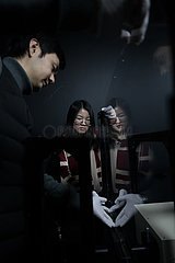 (EyesonSci) CHINA-BEIJING-ULTRAHIGH ENERGY-DISCOVERY (CN)