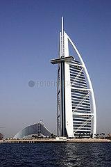 Dubai  Vereinigte Arabische Emirate  Hotel Burj al Arab