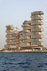 Dubai  Vereinigte Arabische Emirate  Baustelle des Royal Atlantis Resort