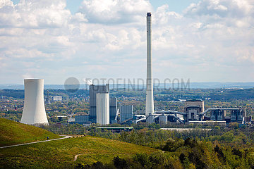 STEAG Heizkraftwerk Herne  Nordrhein-Westfalen  Deutschland  Europa
